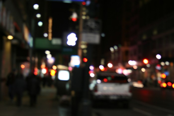 NYC out of focus