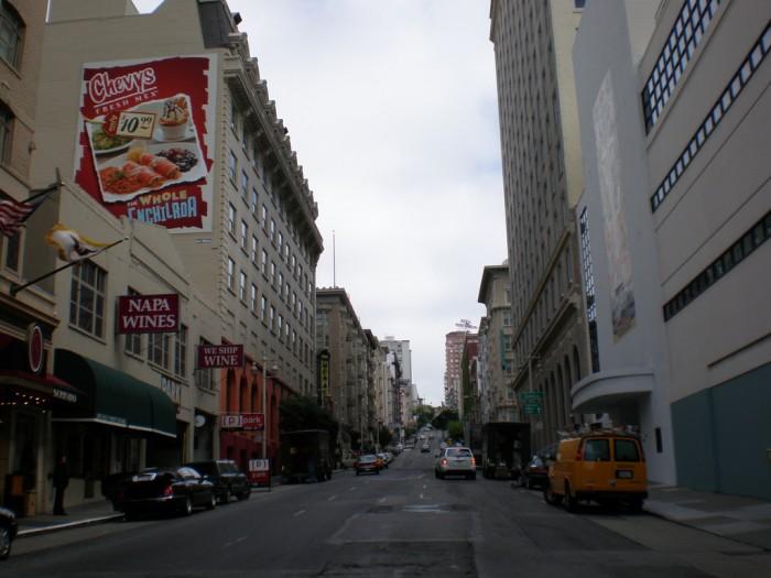 SF city center