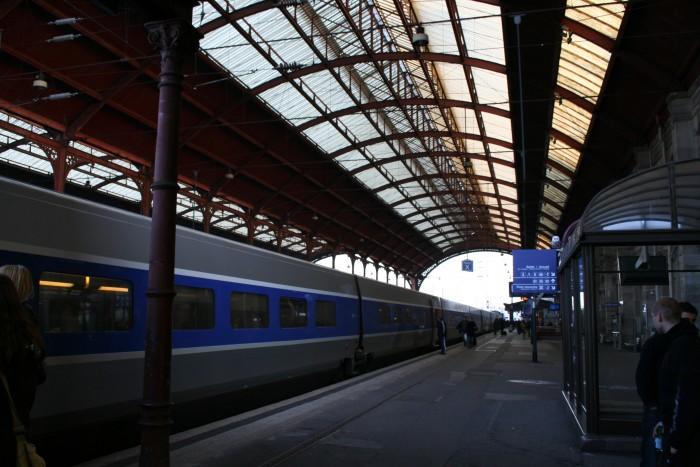 Strasbourg's train station
