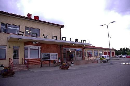 Estación de tren de Rovaniemi.