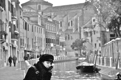 Princesa en Venecia.