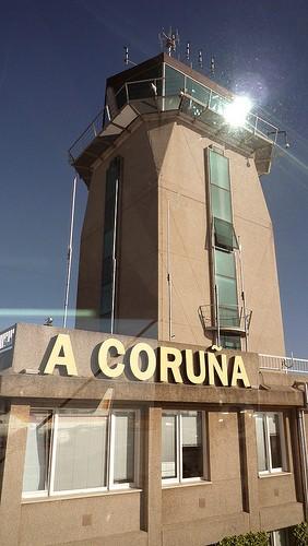 Aeropuerto de A Coruña.