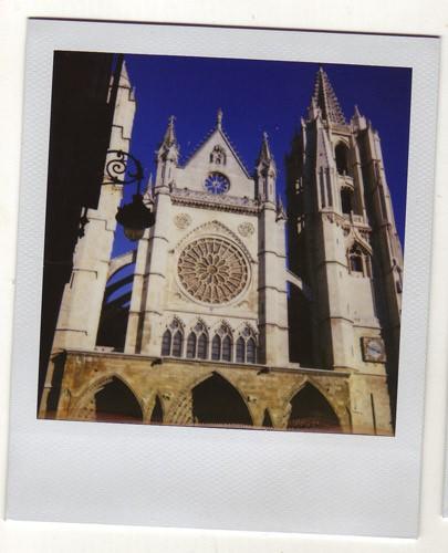 La hermosa Catedral de León. Desde el año 1200