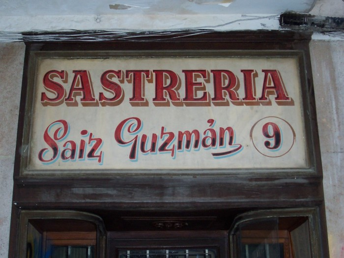 I love the beautiful old shop signs of Madrid!