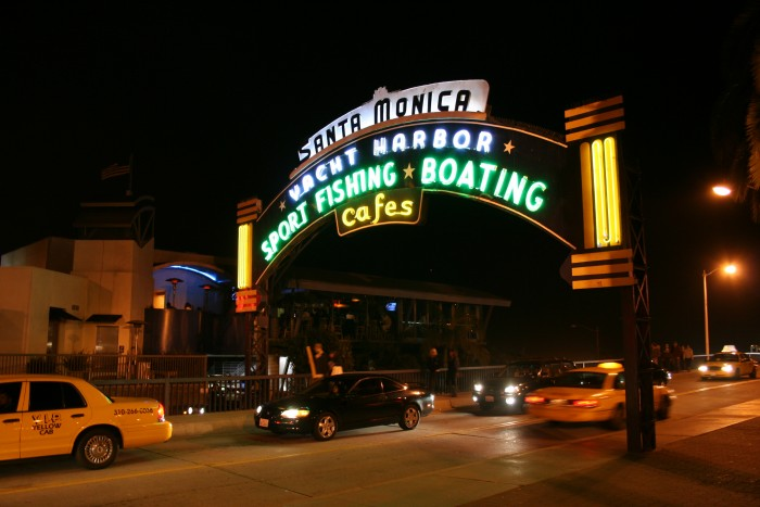 Santa Monica Pier Gate