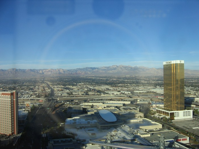 Our View from the Tower Suites @ the Wynn