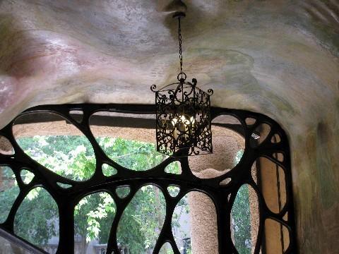 Gaudi's Casa Mila in Barcelona