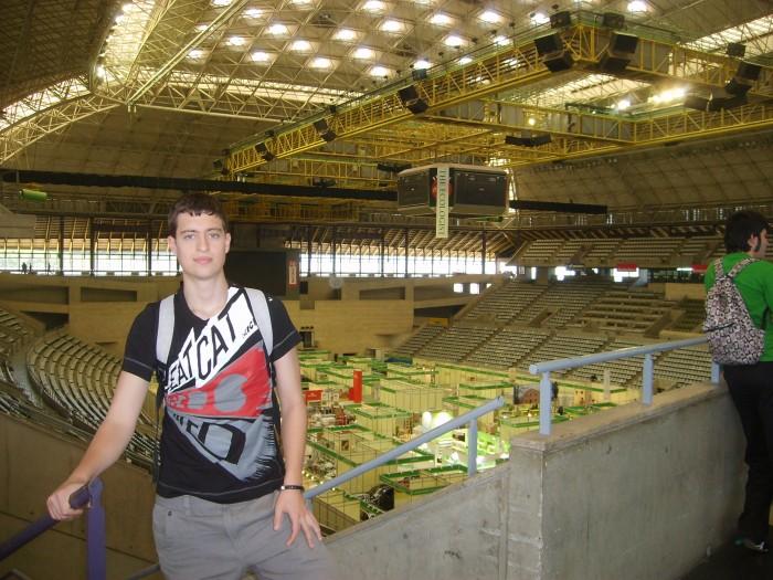 Palau San Jordi ( donde juega el Barça de Baloncesto!