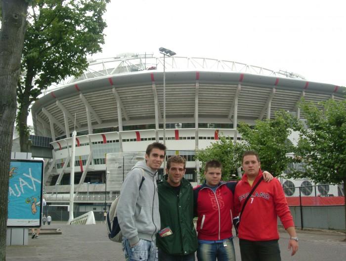 El escenario de la septima copa de europa del Madrid. El Amsterdam Arena
